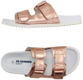 Jil Sander Navy Sandals