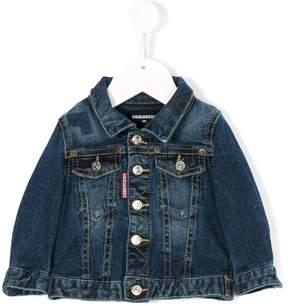 DSQUARED2 stonewashed denim jacket