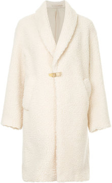 CITYSHOP midi shearling coat