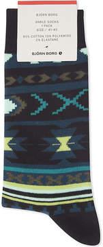 Bjorn Borg Novajo cotton-blend ankle socks