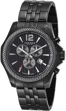 Akribos XXIV Black Men's Watch