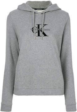CK Calvin Klein drawstring logo hoodie