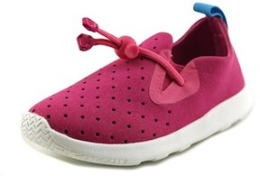 Native Apollo Moc Toddler Round Toe Synthetic Pink Sneakers.