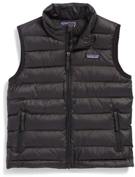 Patagonia Boy's 600-Fill Power Down Windproof & Water Resistant Sweater Vest