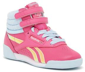 Reebok Free Style High Top Sneaker (Little Kid)