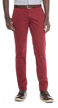 Hiltl FHP by Teach Flat-Front Chino Pants - Slim Fit (For Men)