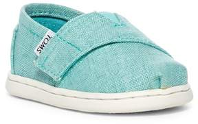 Toms Classic Print Slip-On Flat (Baby, Toddler, & Little Kid)