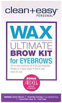 Clean + Easy Clean + Easy Ultimate Brow Kit