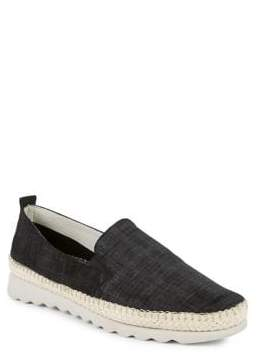 The Flexx Chappie Leather Espadrille Loafers