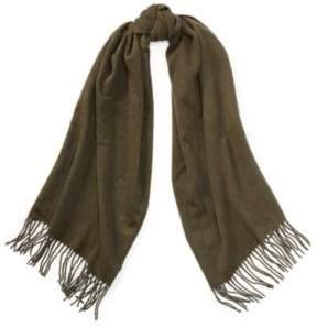 Ralph Lauren Cashmere-Wool Muffler Scarf Loden One Size