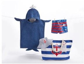 Baby Aspen Infant Nautical 4-Piece Gift Set