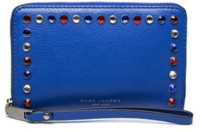 Marc Jacobs Women's Leather ¿pyt¿ Continental Wallet Blue. - BLUE - STYLE
