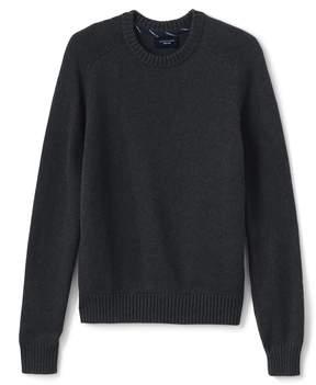 Lands' End Lands'end Men's Drifter Cotton Crewneck Sweater