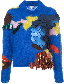 DELPOZO sequinned jumper