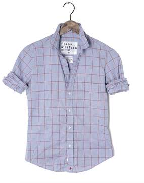 Frank And Eileen Womens Limited Edition Barry Grid Shirt With Heart