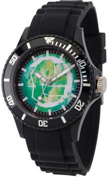 Marvel Classic Mens Black Strap Watch-Wma000065