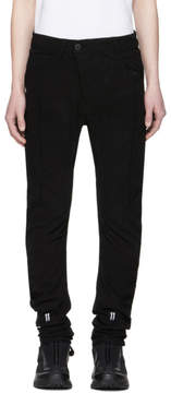 11 By Boris Bidjan Saberi Black Shaped Jeans