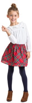 Vineyard Vines Girls Jolly Plaid Party Skirt