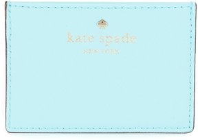 Kate Spade Cedar Street Collection Card Holder - ATOLL BLUE - STYLE