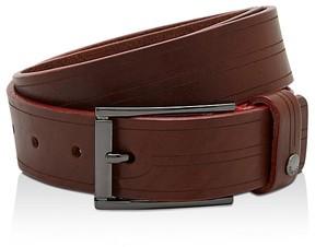 Ted Baker Magno Etched Leather Belt