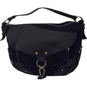 Borbonese Black Suede Handbag