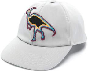 Lanvin Dino patch baseball cap