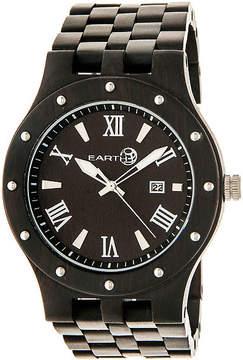 Earth Wood Dark Brown Bracelet Watch with Date ETHEW3202