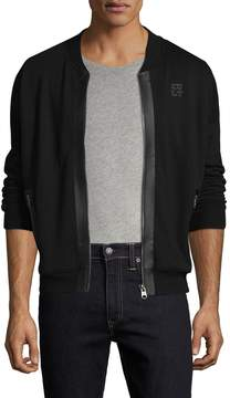 Cult of Individuality Men's Bomber Cotton Bomber Jacket