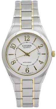 Citizen BI0954-50A Men's Classic Silver & Gold Stainless Steel Watch