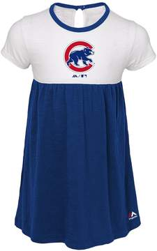 Majestic Toddler Girl Chicago Cubs 7th Inning Dress