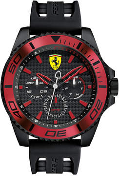 Ferrari Scuderia Men's Xx Kers Black Silicone Strap Watch 50mm 0830310