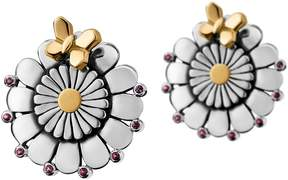 Azza Fahmy Flower Stud Earrings
