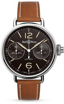 Bell & Ross WW1 Chronographe Monopoussoir Heritage Watch, 45mm