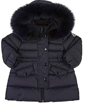 Moncler Infants' Essentiel Fur-Trimmed Down-Quilted Coat