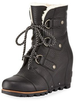 Sorel Joan Of Arctic Leather Wedge Boot