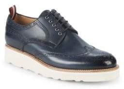 Bally Cordik Platform Leather Sneakers