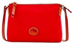 Dooney & Bourke Nylon Crossbody Pouchette Shoulder Bag - RED - STYLE
