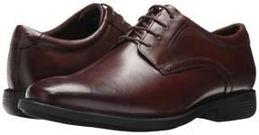 Nunn Bush Devine Plain Toe Oxford with KORE Walking Comfort Technology Men's Lace up casual Shoes