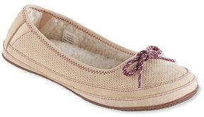 L.L. Bean Women's Hearthside Slippers, Ballet