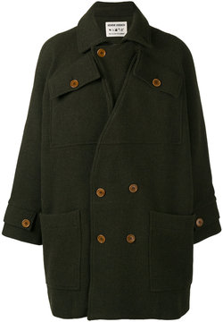 Henrik Vibskov Taba double-breasted coat