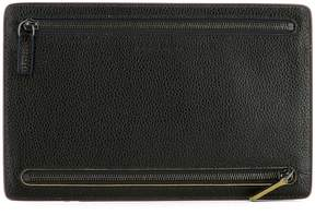 Salvatore Ferragamo Brown Leather Document Holder
