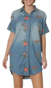 Driftwood Mabel Floral Embroidered Shirtdress