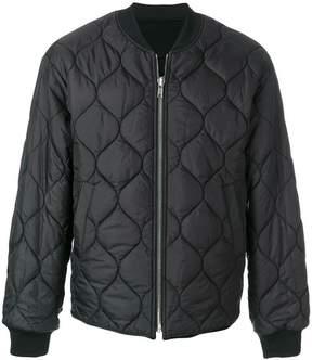 Juun.J embroidered back padded jacket