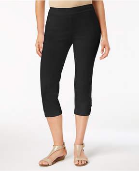 JM Collection Ring-Hem Capri Pants, Created for Macy's