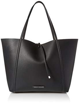 Armani Exchange A X Printed Big Shopping Tote Bag