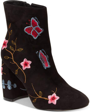 Nanette Lepore Nanette by Lilly Embroidered Booties Women's Shoes