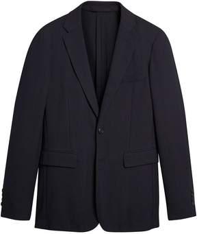 Burberry Soho Fit Herringbone Cotton Blend Jacket