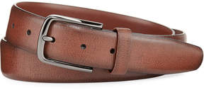 Original Penguin Park Ave Leather Belt, Brown