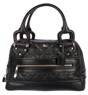 Burberry Quilted Manor Bag