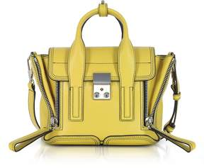 3.1 Phillip Lim Chartreuse Leather Pashli Mini Satchel Bag